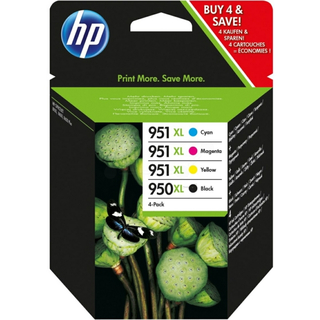 HP 950XL - 951XL Spar-Pack Original Tinte