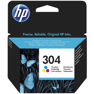 HP 304 Tinte Color
