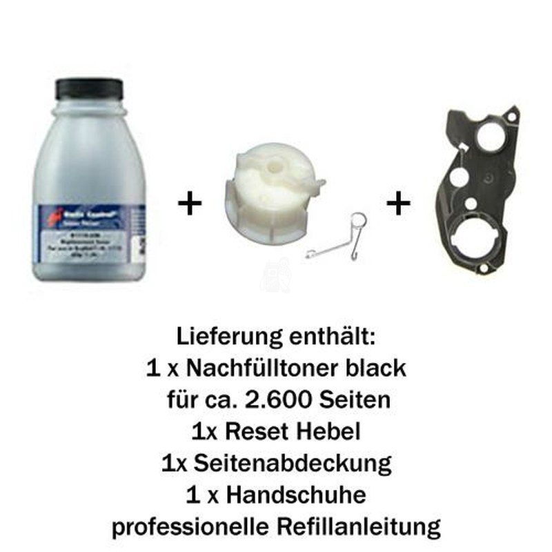 Refill-Set Brother TN-2220 kompatibel