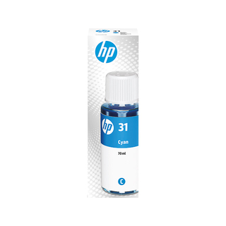 HP 31 Cyan Original Tintenflasche, 70 ml